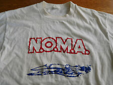 Vintage NOMA Northwest Outboard Marathon Association APBA Power Boat T Shirt L M