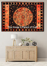 Indian Table Cloth Astrology Art Tapestry Horoscope Wall Hanging Zodiac Yoga Mat