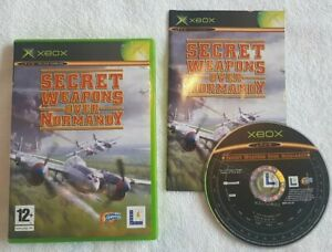 Original XBOX Game - Secret Weapons Over Normandy (COMPLETE) FAST POST