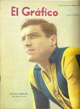 Soccer SOUTH AMERICA CUP 1959 Argentina vs Uruguay  Magazine Argentina