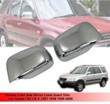 CHROME MIRROR COVER INSERT TRIM FOR HONDA CRV CR-V 1997 1998 1999 2000