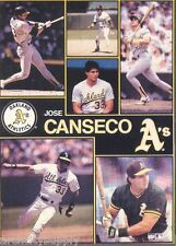 MONSTER POSTER: MLB BASEBALL: JOSE CANSECO - OAKLAND A'S - #PW-SLMP-JC    RAAA