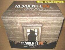 PS4 Resident Evil 7 Biohazard Collector's Edition New + Bonus DLC (PlayStation 4
