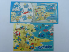DC271 PUZZLE I PUFFI + BPZ KINDER JOY RUSSIA 2011 THE SMURFS