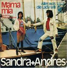 "Sandra + Andres* - Mama Mia (7"", Single) Vinyl Schallplatte - 24088"
