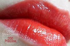 L OREAL ENCRE ROUGE A LEVRES SHINE CARESSE 200 PRNCESS LONGUE TENUE NEUF BLISTER