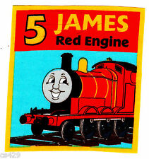 "4"" Thomas the train tank james fabric applique iron on character"
