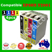 4X T200 T2001 T200XL Ink Cartridge for Epson 200/300/400/310/410 WF2510/2530