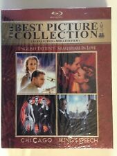 Best Picture Collection: Chicago/English Patient/King Speech/Shakespeare w/ slip