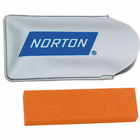 Norton Small Sportsman Fine Grit Knife And Tool Sharpening Stone NT346 New!