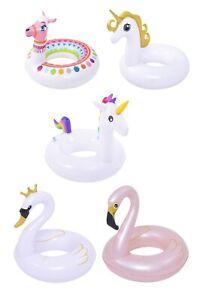 Schwimmringe ca.55cm Durchmesser zur Auswahl: Einhorn, Flamingo und viele mehr