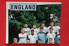 Panini EURO 88 N. 153 ENGLAND TEAM WITH BACK VERY GOOD / MINT CONDITION!!!