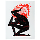 ≪ PRINT ≫ Cleon Peterson Painting Endless Sleep Frame size 72.5 x 72.5