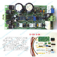IRF3205 0-15V 0-5A Continuously Adjustable Regulated Power Supply DIY Kits