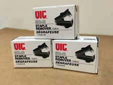 New listing (3 Units) Officemate Oic Staple Remover Recycled Handle Black 95691 Nib