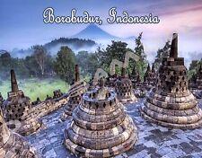 Indonesia - BOROBUDUR - Travel Souvenir Flexible Fridge Magnet