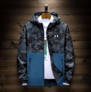 New Men's Under Armour UA Overlook Jacket Wind Breaker outdoor sports coat UK