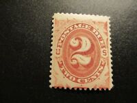 US #J2 Gum Crease Mint Never Hinged - (W4) I Combine Shipping