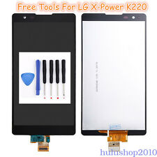 Black For LG X power K220 LS755 K450 X3 US610 LCD Touch Screen Digitizer Tools