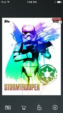 Topps Star Wars Digital Card Trader Hyper Color Trooper Art/Rebellion Insert