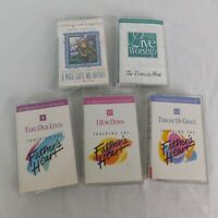 Lot of 5 Cassettes Touching Father's Heart Vineyard Music Group see description