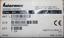 New in Box Intermec If4A Rfid Reader, If4A, Bri, 869Mhz, Rs232, Iso, Euro, Etsi
