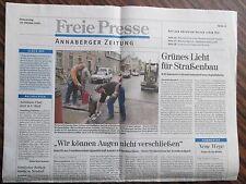 Zeitung Zeitschrift  Annaberg  19.10.2000