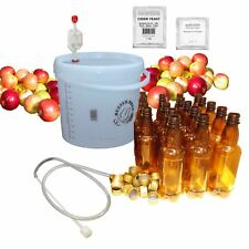 Cider Making Kit - with Bottles - 10L/2 Gallon/20 Pints Home brew Beer Ale Lager