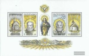 Slovakia block21 (complete issue) unmounted mint / never hinged 2003 church prov