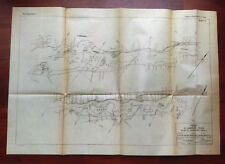 1919 Sketch Map of Canals of St. Lawrence River Gallop Morrisburg Ogden Island