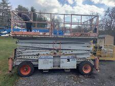 SKYJACK SJ9250 50' 4x4 DUAL FUEL ROUGH TERRAIN SCISSOR MAN LIFT EXT PLATFORM