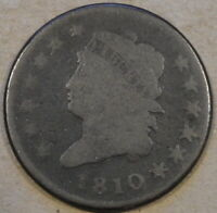 1810 Classic Head Large Cent G Nice Planchet