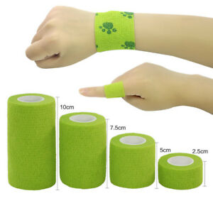 Sports Auto-stick Elastic Bandage Kneecap Protect Finger Knee Ankle Straps