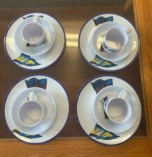Vintage Anacapa Boat Flag Melamine 12 piece dish set