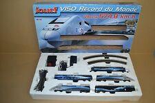 coffret train TGV V150  RECORD DU MONDE ( jouef- hornby)    HO   à voir