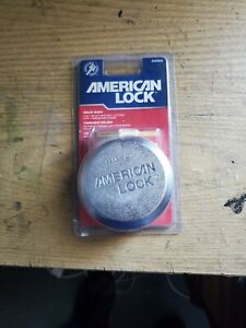 NEW American Lock A2000D Series 2000 Round Solid Steel Shackleless Lock Padlock