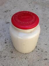 Vintage Pommery Moutarde De Meaux Mustard Stoneware Crock Jar with lid
