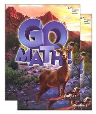Grade 6 Go Math Student Edition Set 2015 2-Volumes 6th