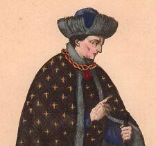 Antoine de Vergy comte de Dammartin Chambellan Maréchal de France