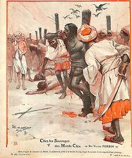 BIRMANIE BURMA PEUPLE CHIN ALGERIE RETOUR DES HADJIS ARTICLES PRESSE 1906