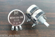Potentiometer Double Gang 2 x 10K Ohm 2W,Long Life Panel Pot