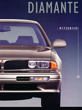 1995 Mitsubishi Diamante and Wagon 12-page Original Car Sales Brochure Catalog