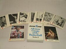 Indiana University All-time Greats Basketball Cards Series I - Full Set, 1986
