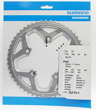 Shimano FC-RS500 52T-MJ Chainring fits 52-36T Crank 2x11 speed 110mm BCD Silver