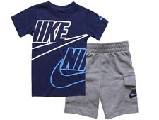 Nike Sportswear T-Shirt & Shorts Set Little Boy's 2-Piece Cargo
