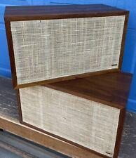 Sweet Classic DYNACO A-25 Bookshelf Speakers ~ Fantastic Look & Sound!