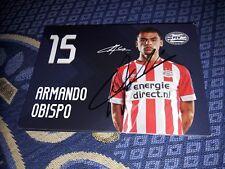 Signierte AK Armando Obispo PSV EINDHOVEN NEU MEGA RAR