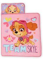 PAW Patrol SKYE Toddler Nap Mat Kids Child Toddlers Pink Soft Sleep New