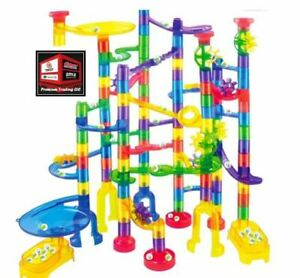 New, Marble Run Premium Toy Set (180 Pcs), Construction Building Blocks Toys
