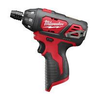 Milwaukee 2401-80 M12 Li-Ion 1/4 in. Hex Screwdriver (BT) Certified Refurbished